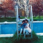 Farkhunda Zahra Naderi Childhood - Garden