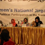 Farkhunda Zahra Naderi at Women Jirga