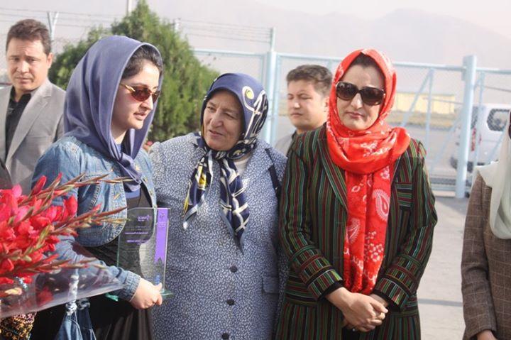 Biography | Farkhunda Zahra Naderi | Afghan Parliamentarian and Women Activist
