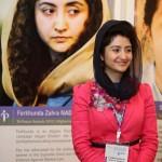 Farkhunda Zahra Naderi won Peace Award 2012