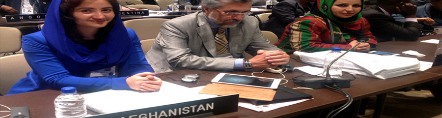 For the first time Afghanistan won a seat in IPU's 3rd standing committee
