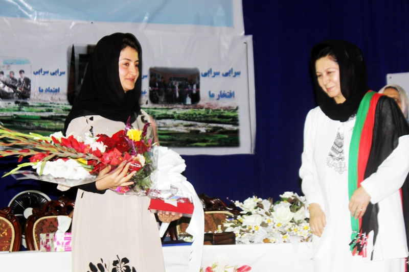 Afghan women celebrities admired