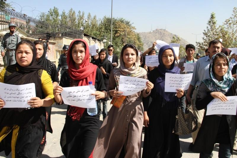 Pro-democracy activists criticize Afghan parliament
