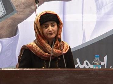 Miss Farkhunda Zahra Naderi's Speech in 2014 Presidential Campaign