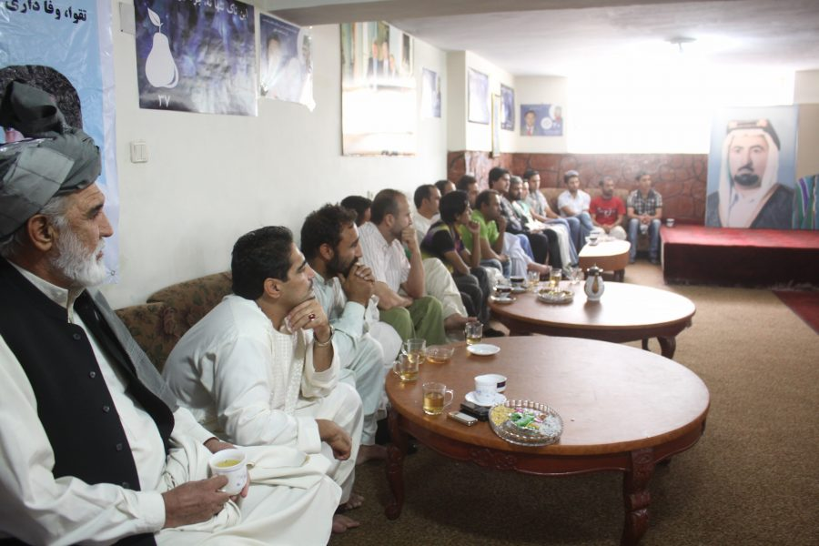 FZN Meeting with supporters during  Parliamentary Campaign in District # 4 Kabul,2010