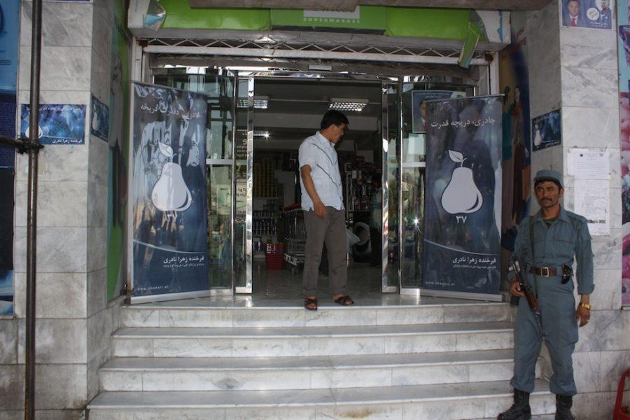 FZN 's Parliamentary Campaign in Finest Super Market Share-e-Naw, Kabul,2010