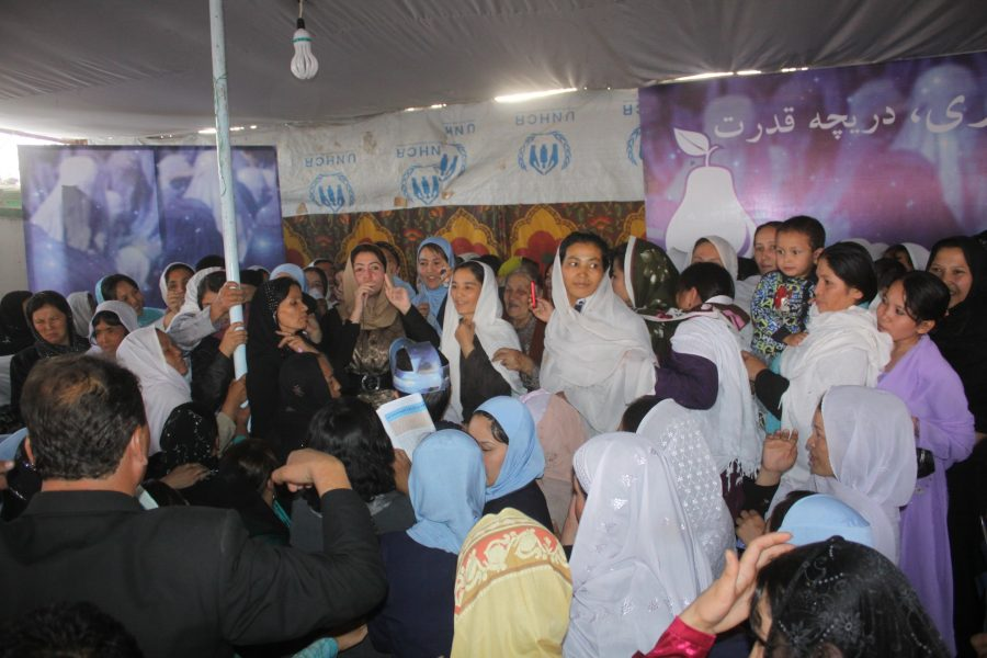 FZN 's first Parliamentary Campaign , District # 10 , Kabul,2010