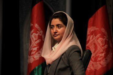 FZN a female member of parliament, During the campaign suggested in a TV debate that the next President should name a woman—the first—to Afghanistan's high court
