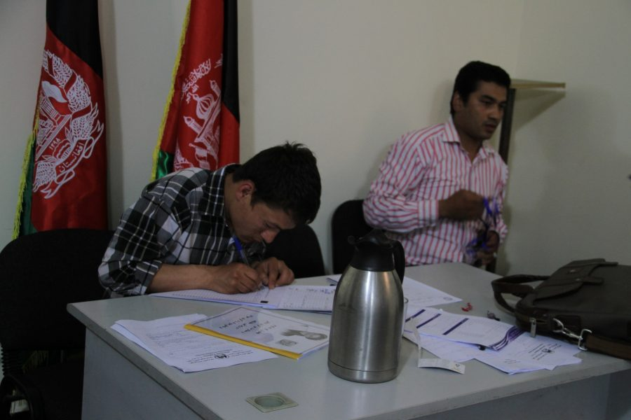 FZN organized a meeting withٍ Election Controller in Asharaf Ghani Ahmadzia 's Presidential Election ,2014