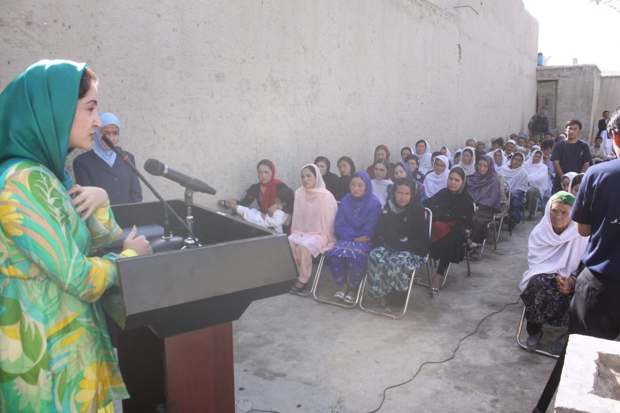 FZN 's second Parliamentary Campaign in District # 10, Kabul 2010