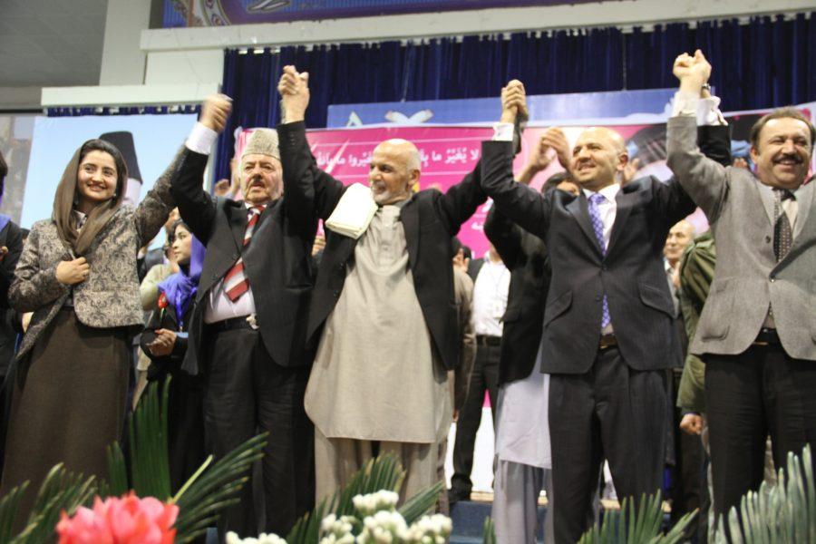 FZN Pictures in Ashraf Ghani Ahmadzai 's Presidential Election Third Campaign, Loya Jirga Camp Kabul,2014