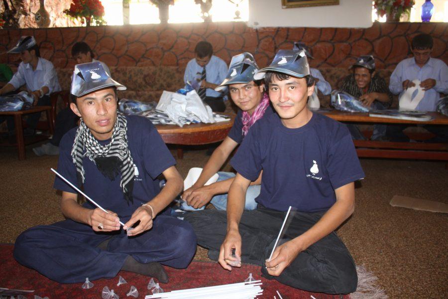 FZN 's Team Members Preparing Parliamentary Campaign Materials for distribution, Kabul,2010