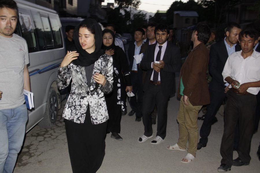 FZN in City Campaign Preparation of Ashraf Ghani Ahmadzia 's President Election,2014