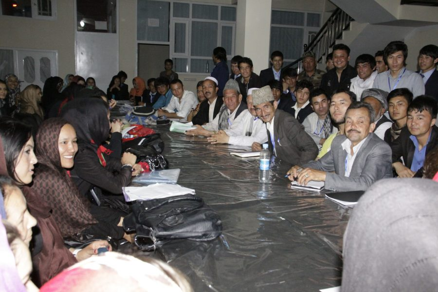FZN Pictures after Voting Process in Ashraf Ghani Ahmadzia 's Presidential Election Day, 2014