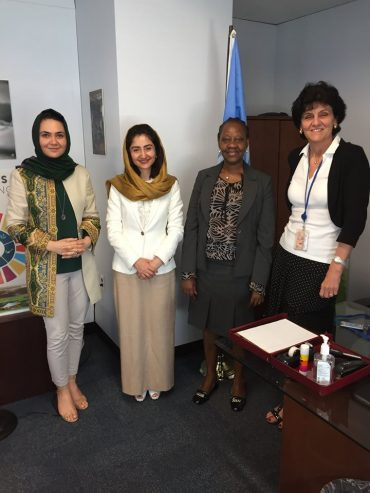 Meeting with the Director of FAO, Ms. Carla Mucavi