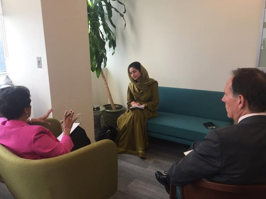 Meeting with Director of UN Development Operations Coordination Office