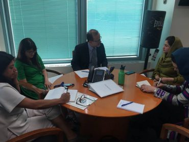 Meeting with Mr. Ted Chaiban, Director of the Programs in UNICEF