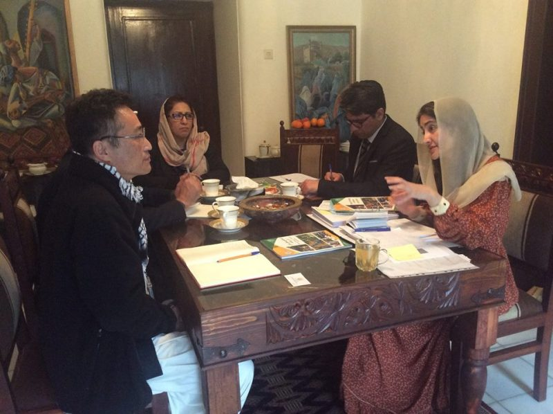 meeting with Director of  Food and Agriculture organization of U.N